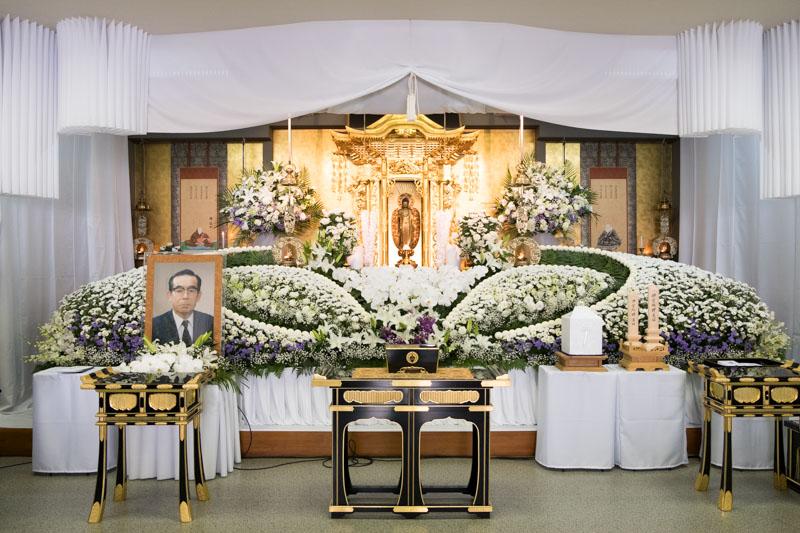 本葬の写真
